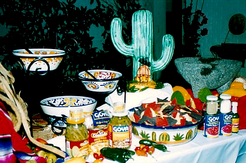 MEXICAN PARTIES SERVICES - FIESTA PARTY SERVICES - THEME PARTIES