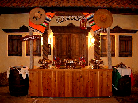 MEXICAN PARTIES SERVICES - FIESTA PARTY SERVICES - THEME